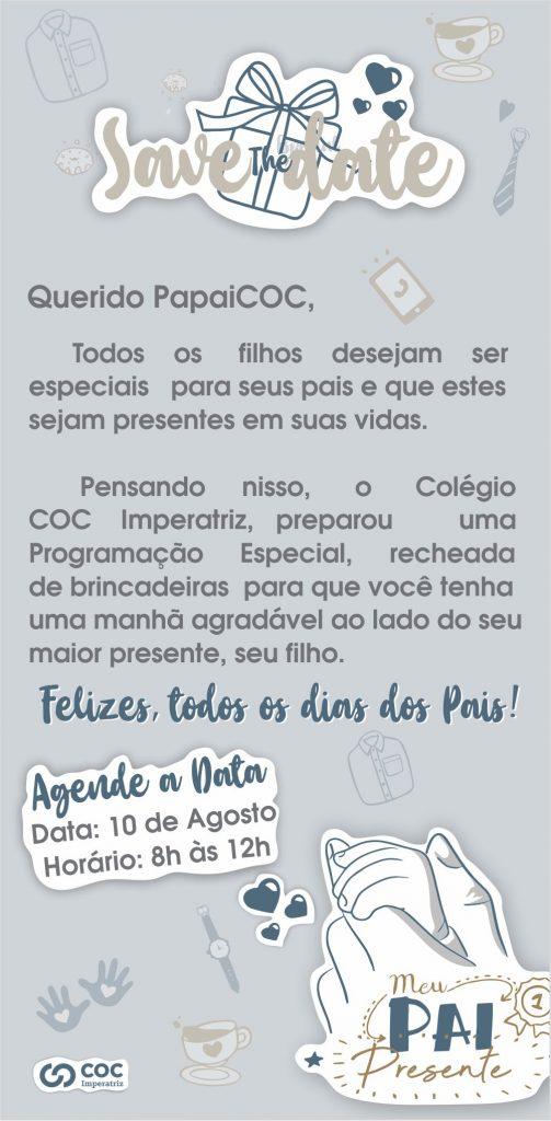 Dia dos Pais COC-Agenda OnLine